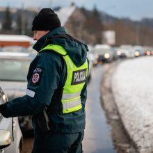 Reidas Kaune: policininkai išbandė naujus alkotesterius
