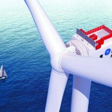 Jūros vėjo jėgainių statybos planas: ketina pritraukti per milijardą eurų investicijų