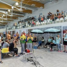 D. Rapšio taurės plaukimo varžybose – olimpiečio D. Grigalionio šeimos triumfas