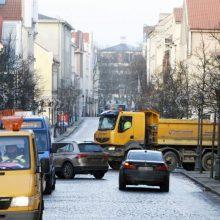 Tiltų gatvė – be mašinų?