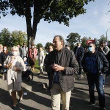 Įpykę klaipėdiečiai susitiko su savivaldybės atstovais: parko kaimynystė vargina?