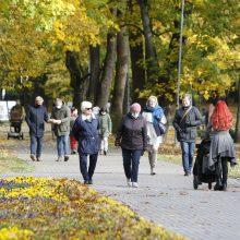 Klaipėdoje – policijos pareigūnų patikros: kaukių nedėvėjusieji teisinasi užmaršumu