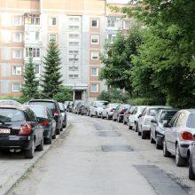 Klaipėdoje – kiemų tvarkymo darbai: bus daugiau automobilių stovėjimo vietų