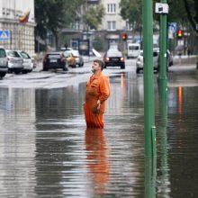Klaipėdoje remontuos lietaus nuotekų sistemas: ruošiasi potvyniams?