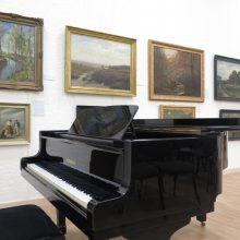Knygos sutiktuvės ir koncertas P. Domšaičio galerijoje