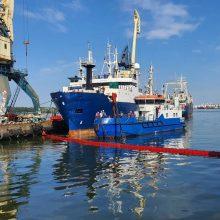 A. Latakas: uoste jokių pokyčių nėra, laivai kasdien išplukdo baltarusiškus krovinius