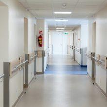 Į Klaipėdos ligoninę dėl įvairių sužalojimų paguldytas vyras
