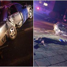 Policija prašo pagalbos: gal matėte šį eismo įvykį?