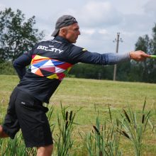 12-ajame Lietuvos diskgolfo čempionate – vienas naujas čempionas