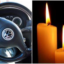 Tragedija Rietave: mirtinai suvažinėtas ant kelio gulėjęs vyras