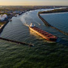 Uosto bangolaužių rekonstrukcija – Lietuvos ekonomikos konkurencingumui didinti