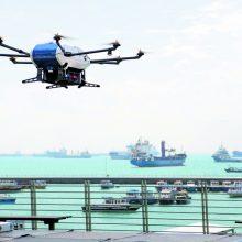 Dronų atsiras ir Klaipėdos uoste