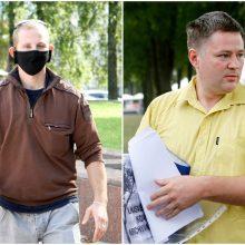 Skandalas Klaipėdoje: į Seimą susiruošęs V. Titovas gatvėje susikivirčijo su rinkėju