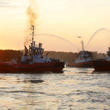 Laivų parado atgarsiai: ryškiausiems dalyviams įteikti apdovanojimai