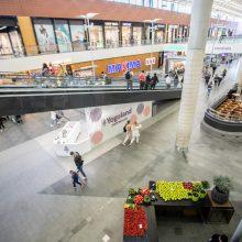 Atvertos visos parduotuvės – kas vyksta Kauno prekybos centruose?