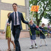 Pagaliau į mokyklą: Kaunas švenčia Rugsėjo 1-ąją
