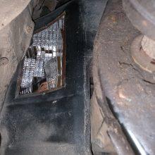 """Už """"Audi"""" degalų bake gabentą kontrabandą gresia tūkstantinė bauda"""