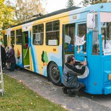 Babtų bendruomenės kūrybinės dirbtuvės įsikurs troleibuse