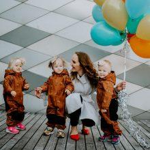 Siekis: didžiausias V.Petravičienės noras – užauginti protingas, sąžiningas, šeimos vertybes puoselėjančias dukras.
