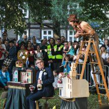 """XXI """"Šermukšnis"""": Klaipėdoje artėja gatvės teatrų fiesta"""