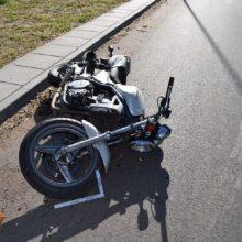Tragiška avarija baigėsi mirtimi: Panevėžio rajone girtas vyras partrenkė motociklininką