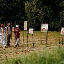 Pakaunėje kylančius meno objektus vietos gyventojai ir įkvepia, ir palaiko