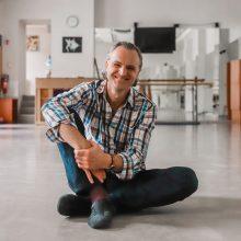 Choreografas A. Jankauskas: kitados maniau, kad niekada nebešoksiu