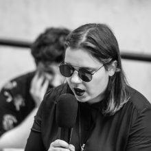 P. Gudeikaitė: gera literatūra turi kelti nerimą