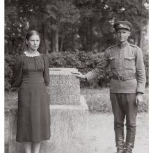 Jausmai: karys S.Mikšta su Adele Čereškevičiūte, Simpatija. 1940 m.