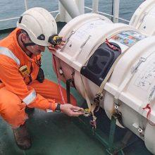 Įteisintos nuotolinės jūrų laivų apžiūros