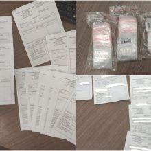 Šiaulietis teisiamas už receptų psichotropinėms medžiagoms gauti klastojimą