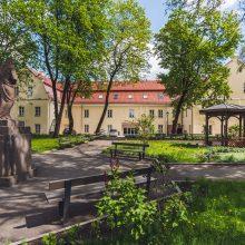 Siručio rūmų parkas.