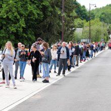 Vakcinavimo tempai Kauno rajone auga