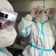 Rusijoje – per 7,8 tūkst. naujų COVID-19 atvejų, mirė 393 pacientai