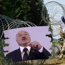 Politologė: jeigu migrantų apgręžimo politika bus veiksminga, A. Lukašenka imsis kitų veiksmų