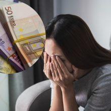 Vagystė Panevėžyje: moteris pasigedo namuose laikytų 19 tūkst. eurų