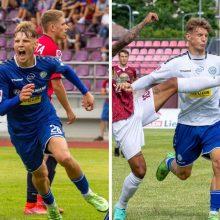 Pakaunę garsina ir futbolininkas N. Petkevičius – rezultatyviausias A lygos žaidėjas