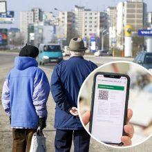 Nauji draudimai gąsdina senjorus: mano, kad be galimybių paso negalės eiti į poliklinikas