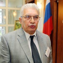 """Misija: Klaipėdoje reziduojantis Rusijos Federacijos generalinis konsulas A.Gračiovas nesibodi skaityti paskaitų apie Lietuvoje """"heroizuojamus nacių kolaborantus""""."""