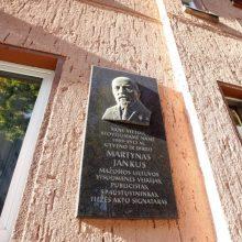 Dilema: ar Klaipėdai reikia M. Jankaus paminklo?
