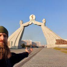 """Kelionė į Šiaurės Korėją: """"prarastojo rojaus"""" beieškant"""