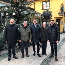 Klaipėdos konservatoriams talkins buvęs aplinkos ministras K. Navickas