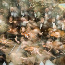 """""""XXI a. metų laikai"""" – kitoks simfoninis koncertas"""
