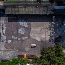 Unikalus projektas: fotografas dronu įamžino kalėjimų kiemus