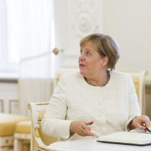 A. Merkel negailėjo komplimentų nei D. Grybauskaitei, nei lietuviams