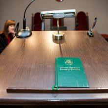 Parlamentarai supaprastino grupės ieškinio teikimo tvarką