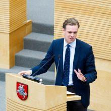 Konservatoriai ragina ignoruoti referendumą dėl Seimo narių skaičiaus