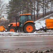 Kelininkai įspėja saugotis plikledžio: naktį ir snigs, ir lis