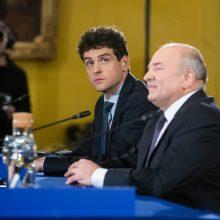 V. Uspaskichas džiaugiasi Vilniaus mero rinkimuose likęs trečias