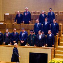 Premjeras: yra ministrų, kurie patys nori trauktis iš Vyriausybės